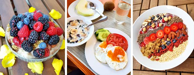 Frühstück Beispiele