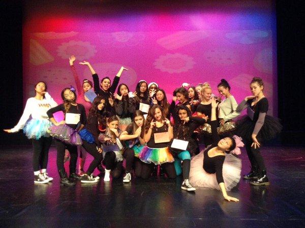 "Los Osos' ""A Glee-ful Christmas"" Dance Show"