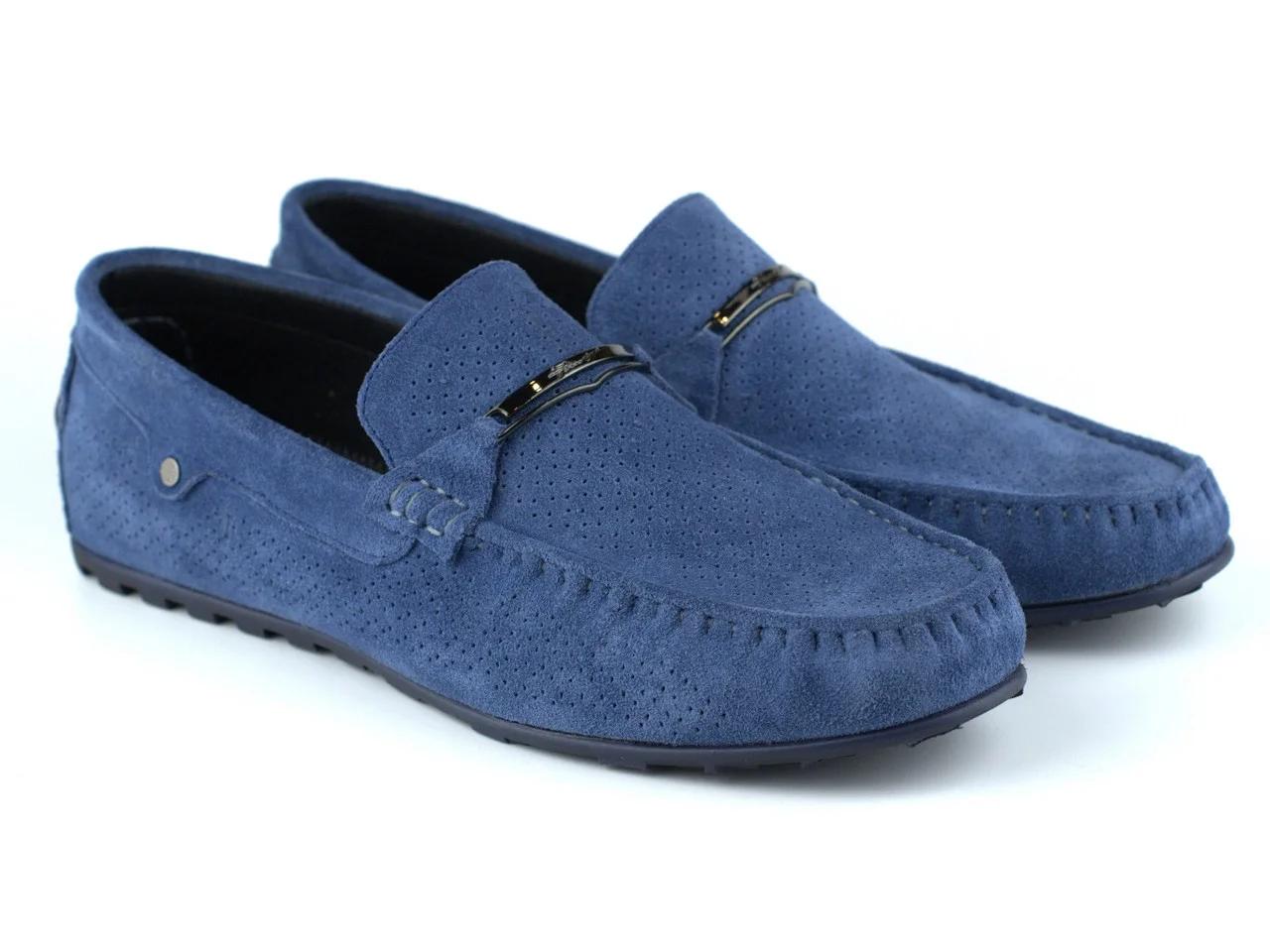 Летние светло-синие мокасины перфорация мужская обувь больших размеров Rosso Avangard ETHEREAL Sky Blu Vel BS Подробнее: