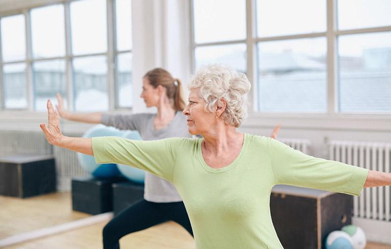 Các bài tập thể dục tốt cho người huyết áp thấp