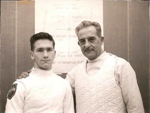 Ralph Zimmerman (left)