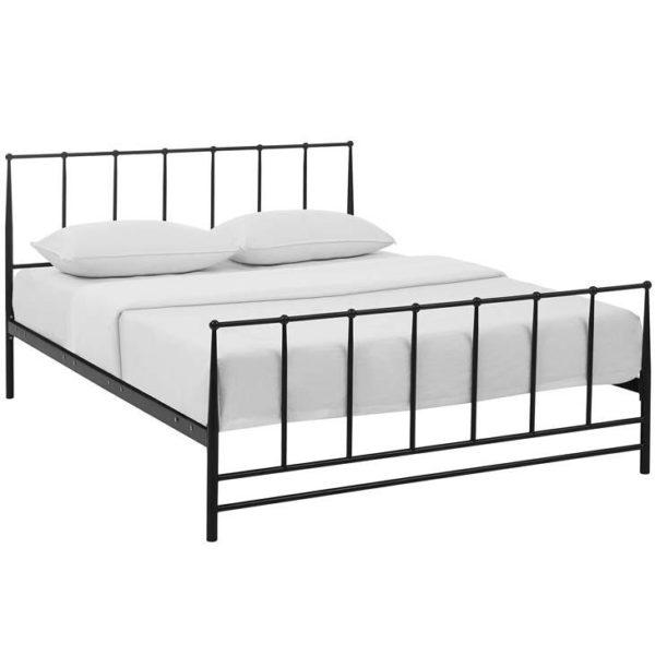 Mid-Century Modern Bed