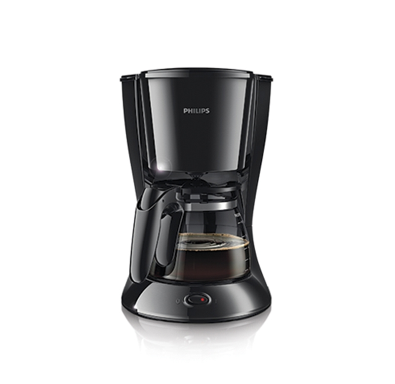 Philips HD7435 Cafetera Goteo 700 W 6 Cups pl/ástico Negro y gris Color Metal