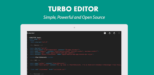 Turbo Editor // Text Editor - Apps on Google Play