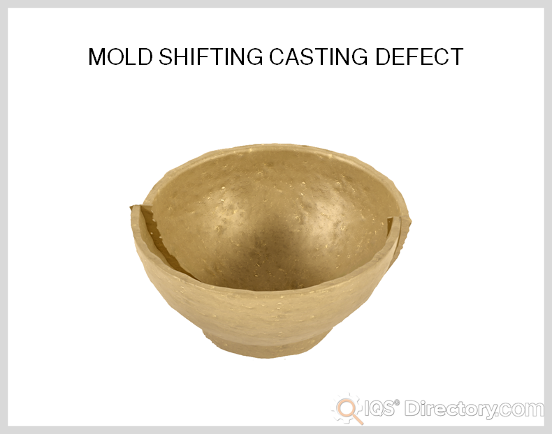 Mold Shifting Casting Defect