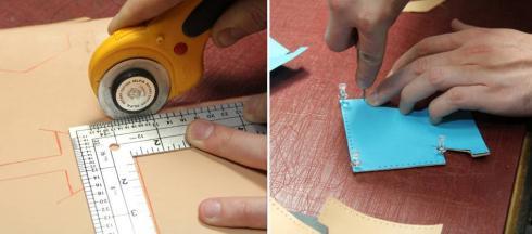 آموزش درست کردن کیف پول چرمی دستساز - مرحله 2