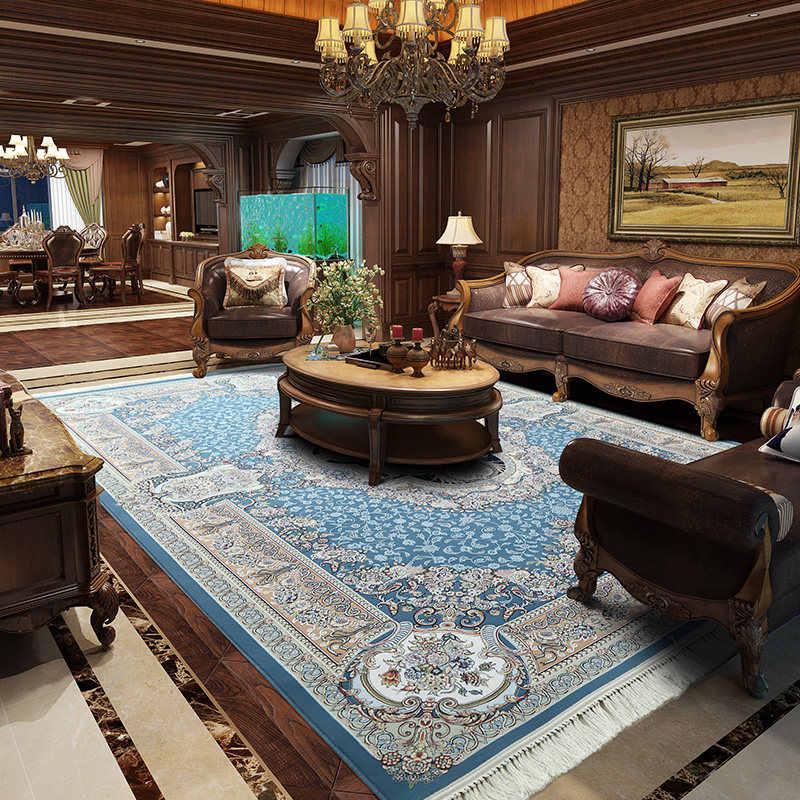 Phòng khách biệt thự với phong cách cổ điển vô cùng sang trọng