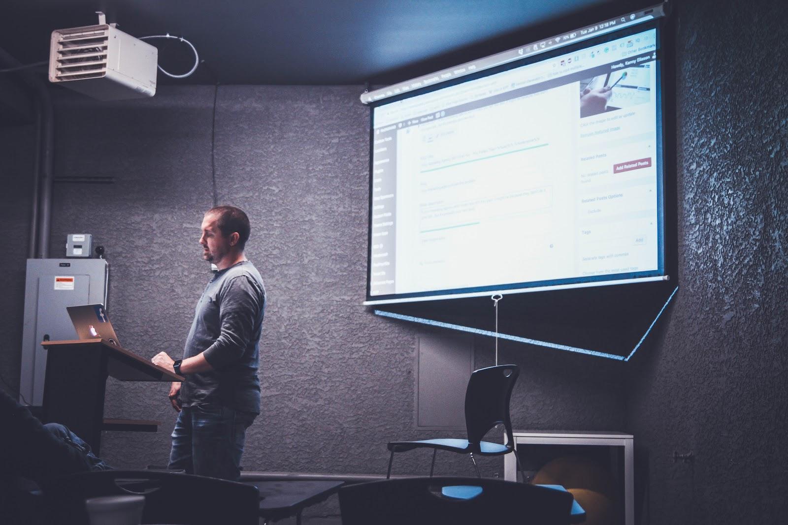 apresentação para empresas e seu impacto de negócio