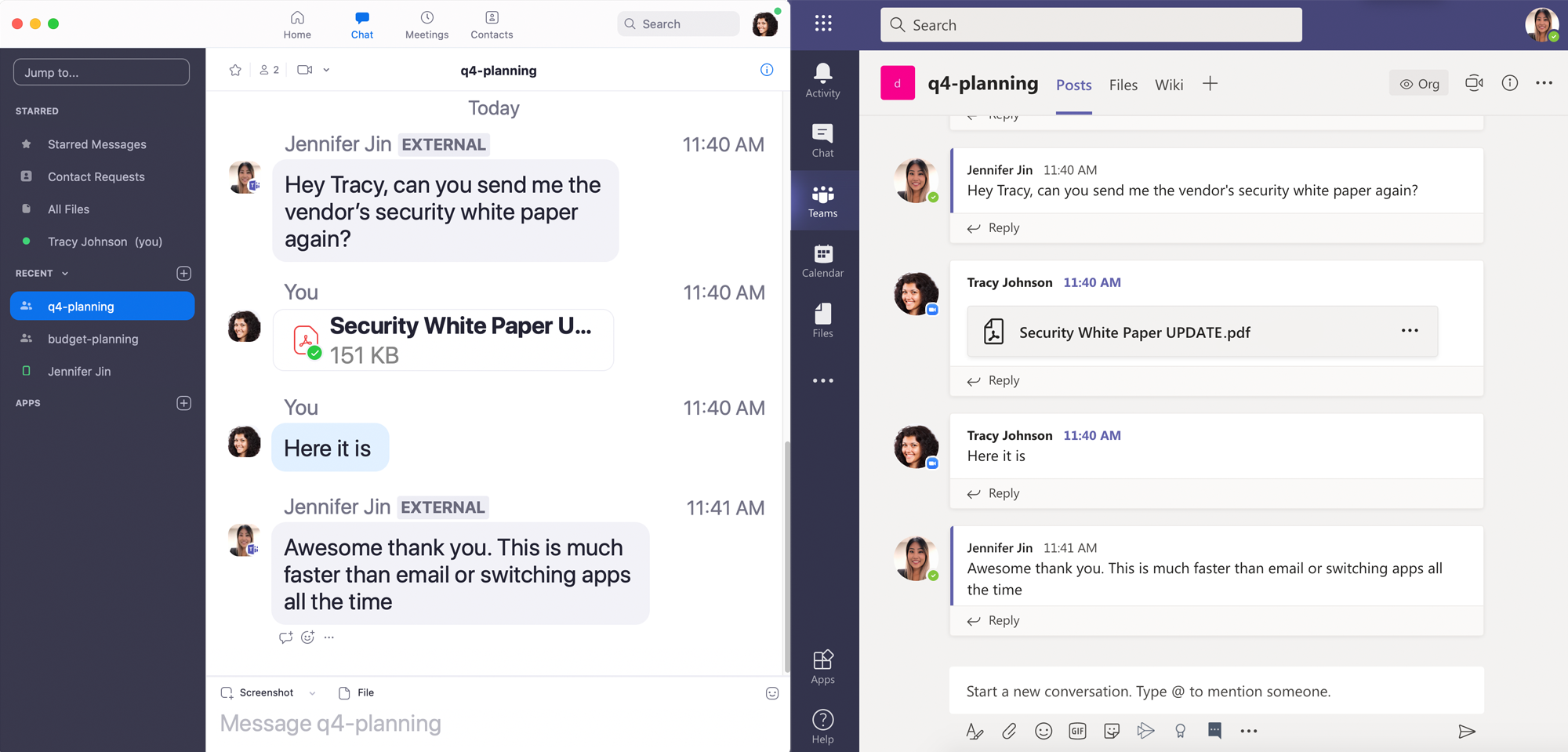 How to add Zoom Chat users to a team in Microsoft Teams