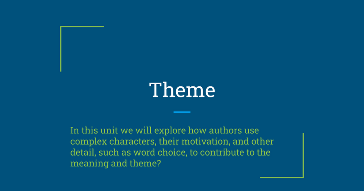 theme google slides