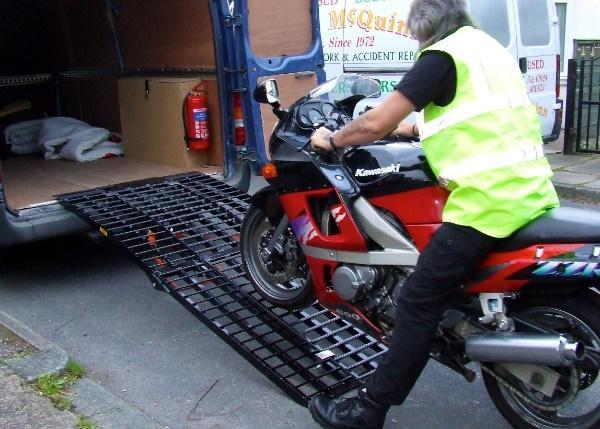Image result for motorcycle transport image uk