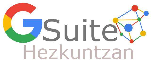 - VII Encuentro en el Bizkaia Aretoa, en Bilbao, de G Suite Hezkuntzan 2018.
