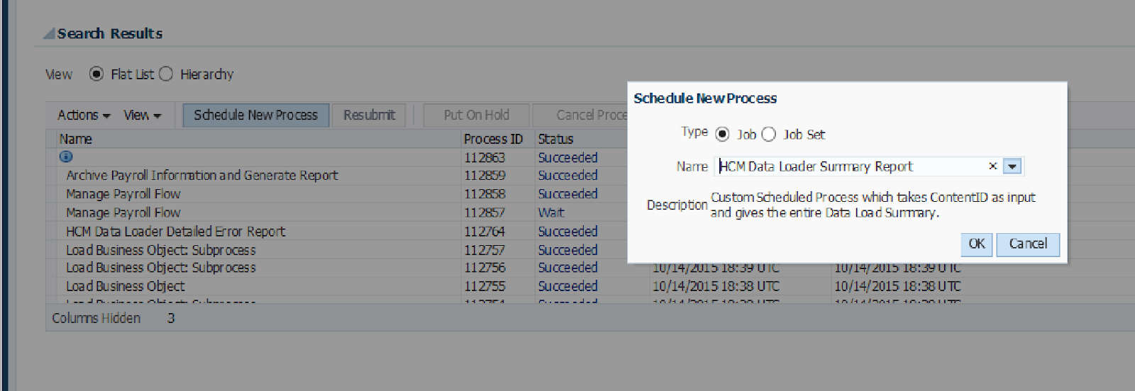 How to Create a Custom ESS Job in Fusion Applications