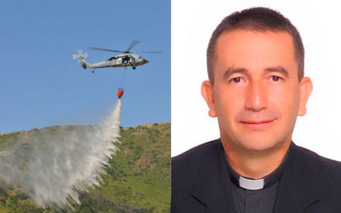 """Đức Giám mục làm phép trừ quỷ cho toàn thành phố từ trên máy bay trực thăng bằng nước Thánh: """"Chúng ta phải tống cổ lũ quỷ"""""""