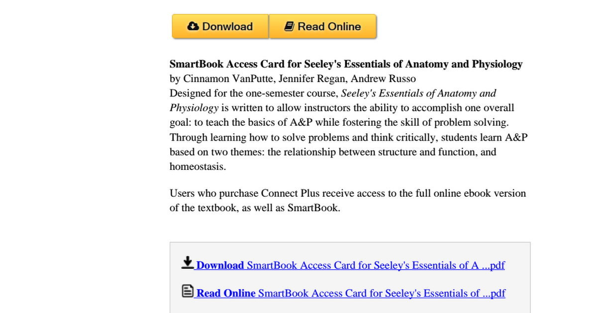 SmartBook-Seeleys-Essentials-Anatomy-Physiology-1259302008.pdf ...