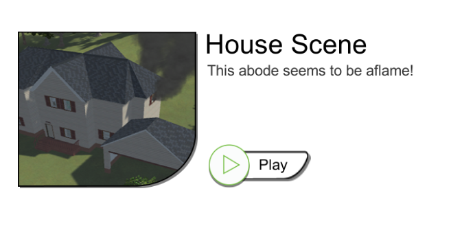 DronesimPro House Scene