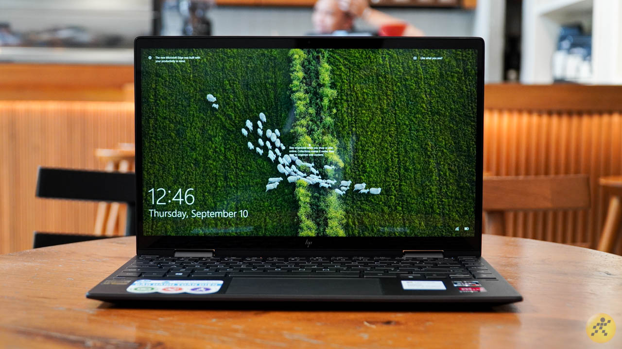 Màn hình hiển thị của HP X360 13