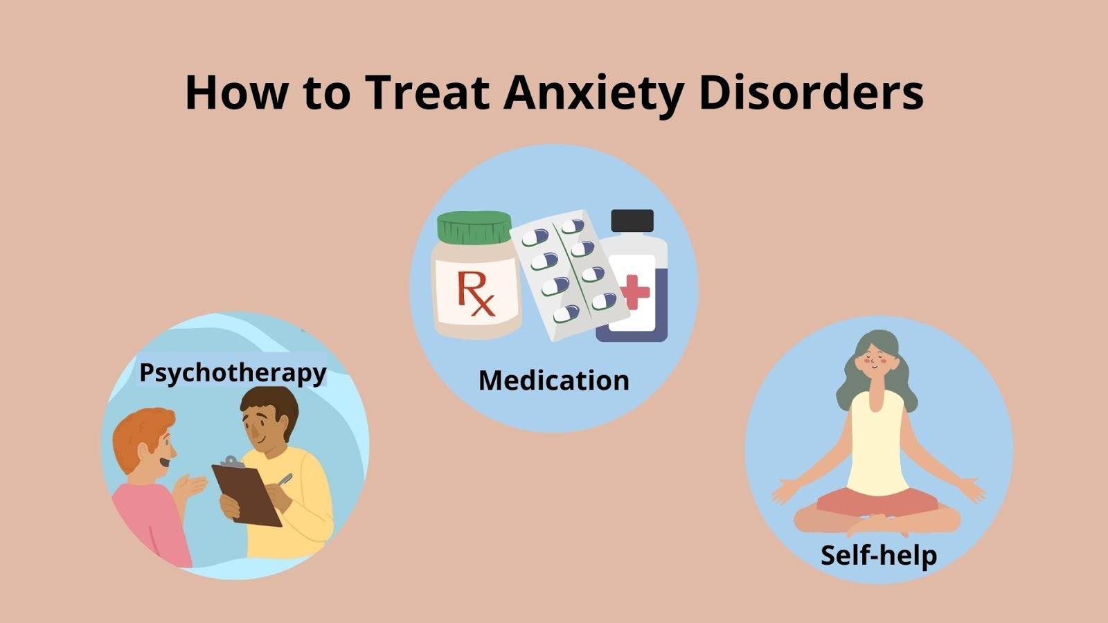 How to Treat Anxiety Disorders ichhori.com