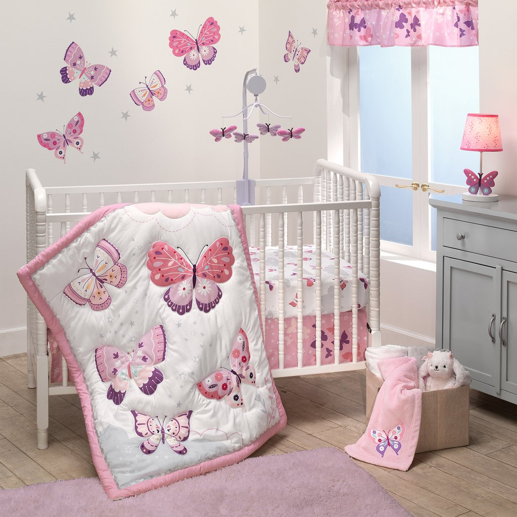 Baby Girl Bedroom with Butterfly