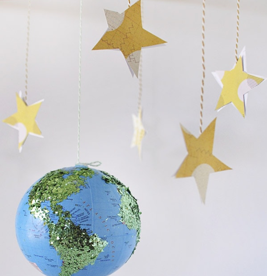 earth and stars mobile
