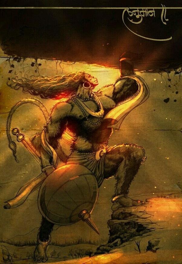 Hanuman rare pics