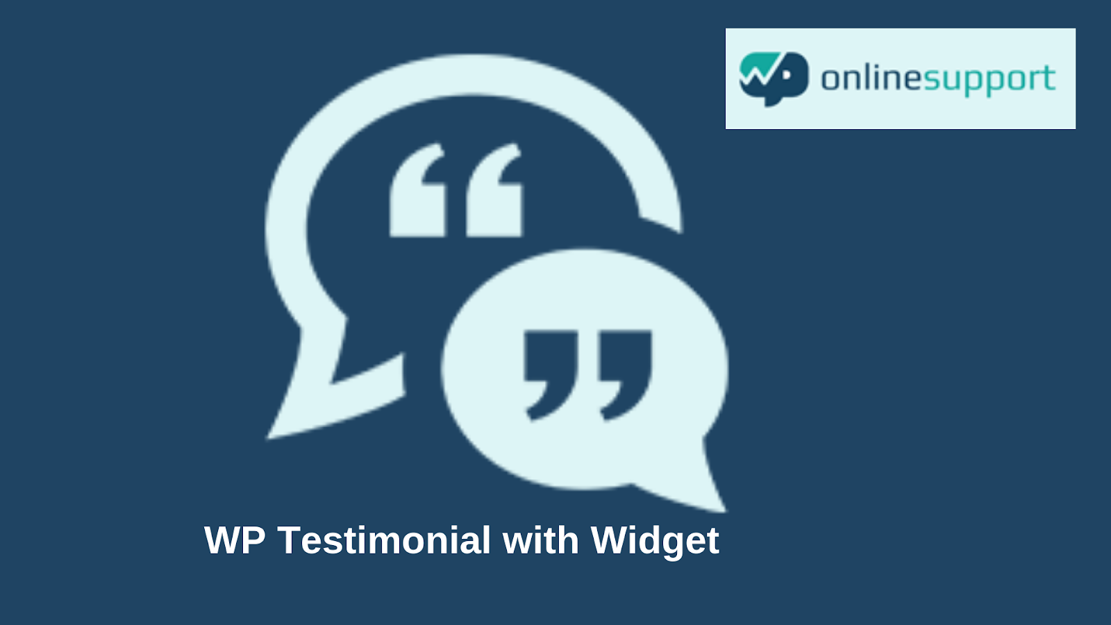 WP Testimonial widget
