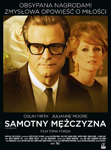 Polski plakat filmu 'Samotny Mężczyzna'