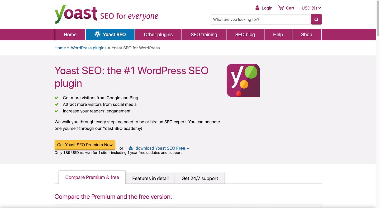 Yoast WordPress Plugin