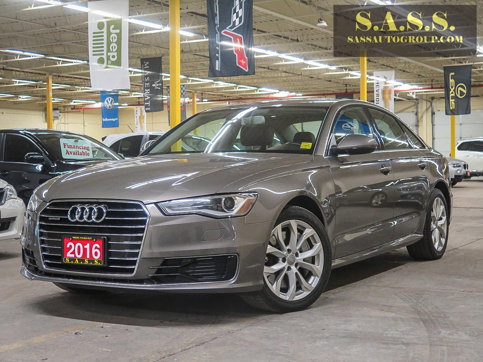 brown audi a6 2016 used
