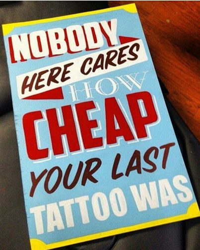 A Few Things Your Tattoo Artist Wants You To Know