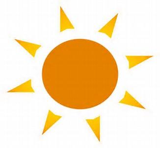 Image result for sun logo