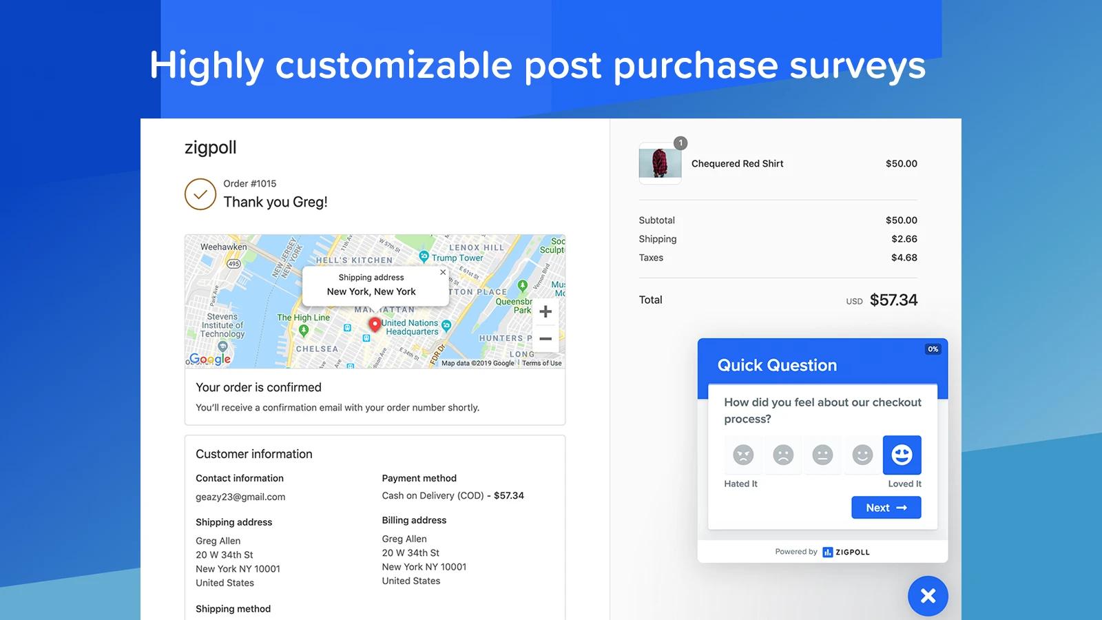 amazing Shopify survey app
