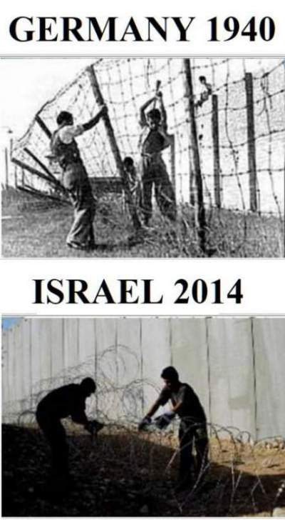 The Difference Between Germany 1940 and Israel 2014