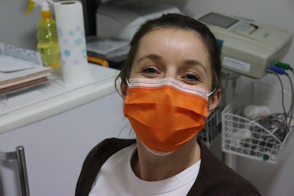 Nurse, Mask Surgical Mask, Covid-19, Coronavirus
