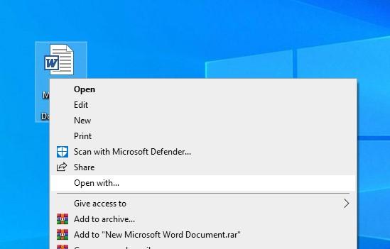 Open RTF File
