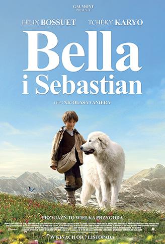 Polski plakat filmu 'Bella i Sebastian'