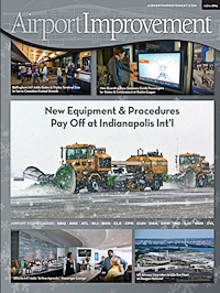 Boston Logan Interactive Directory Featured as a cover story on Airport Improvements Magazine