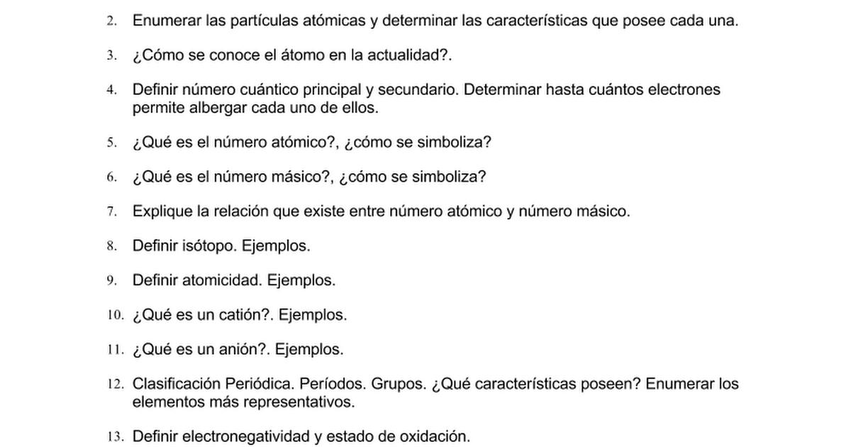Trabajo prctico n2 qumicac documentos de google urtaz Image collections
