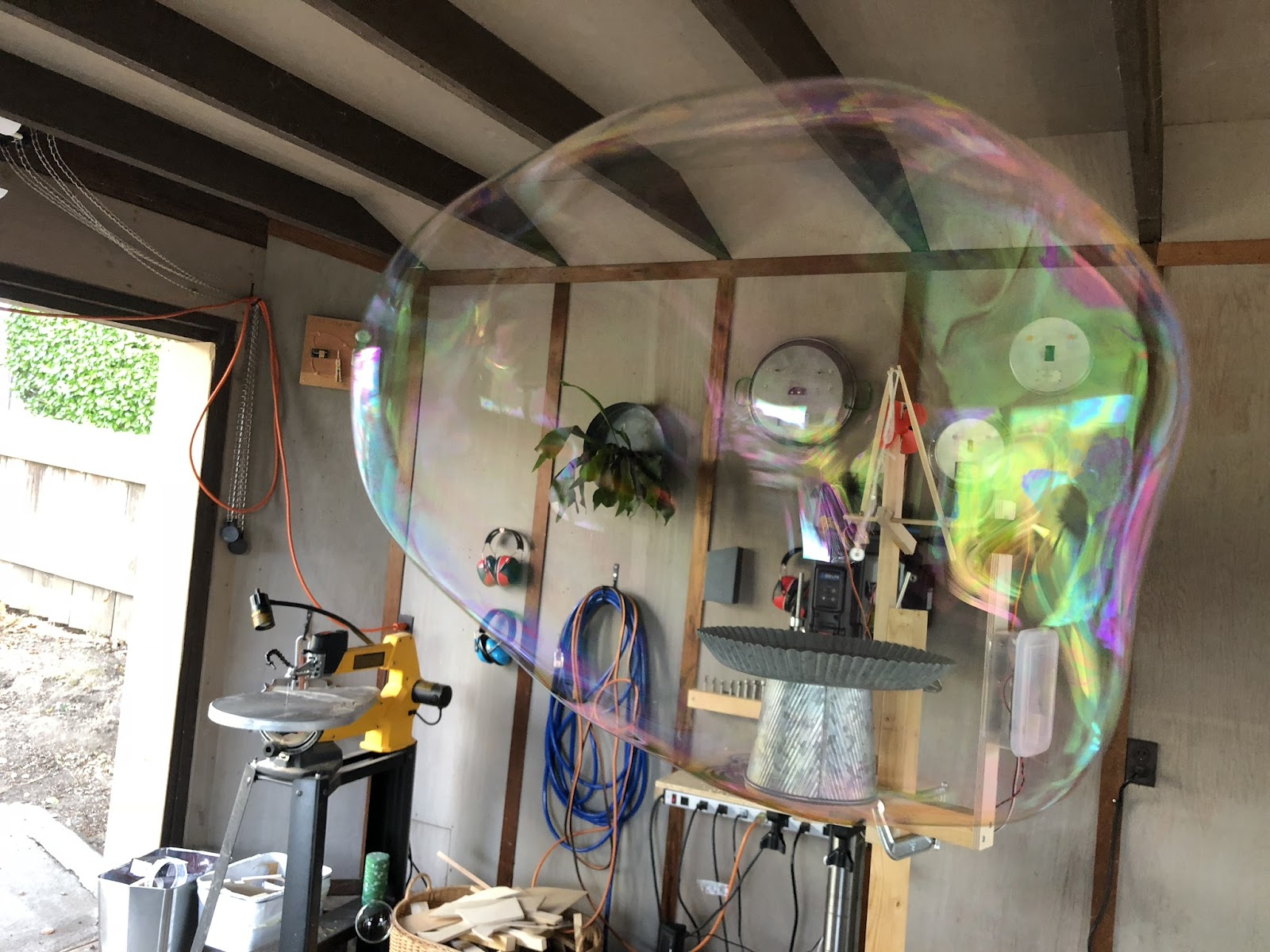 large bubble