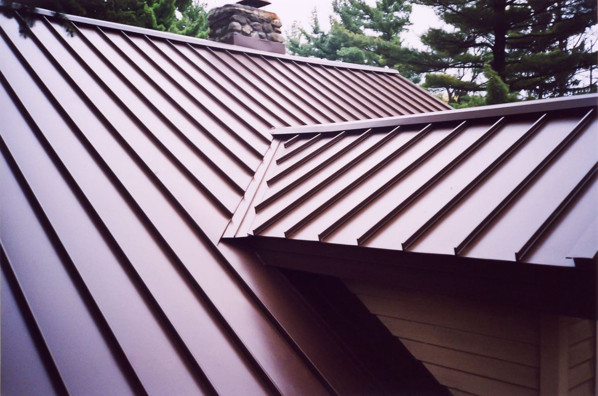 Picture of standing seam roof