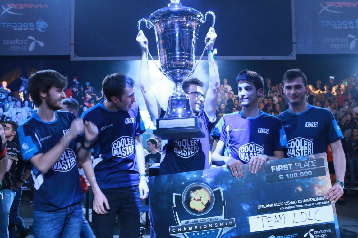 LDLC are champions of DreamHack Winter 2014