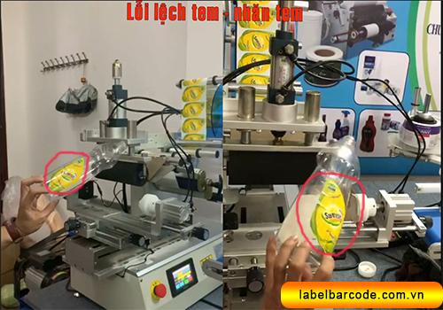 khắc phục lỗi máy dán nhãn đa năng