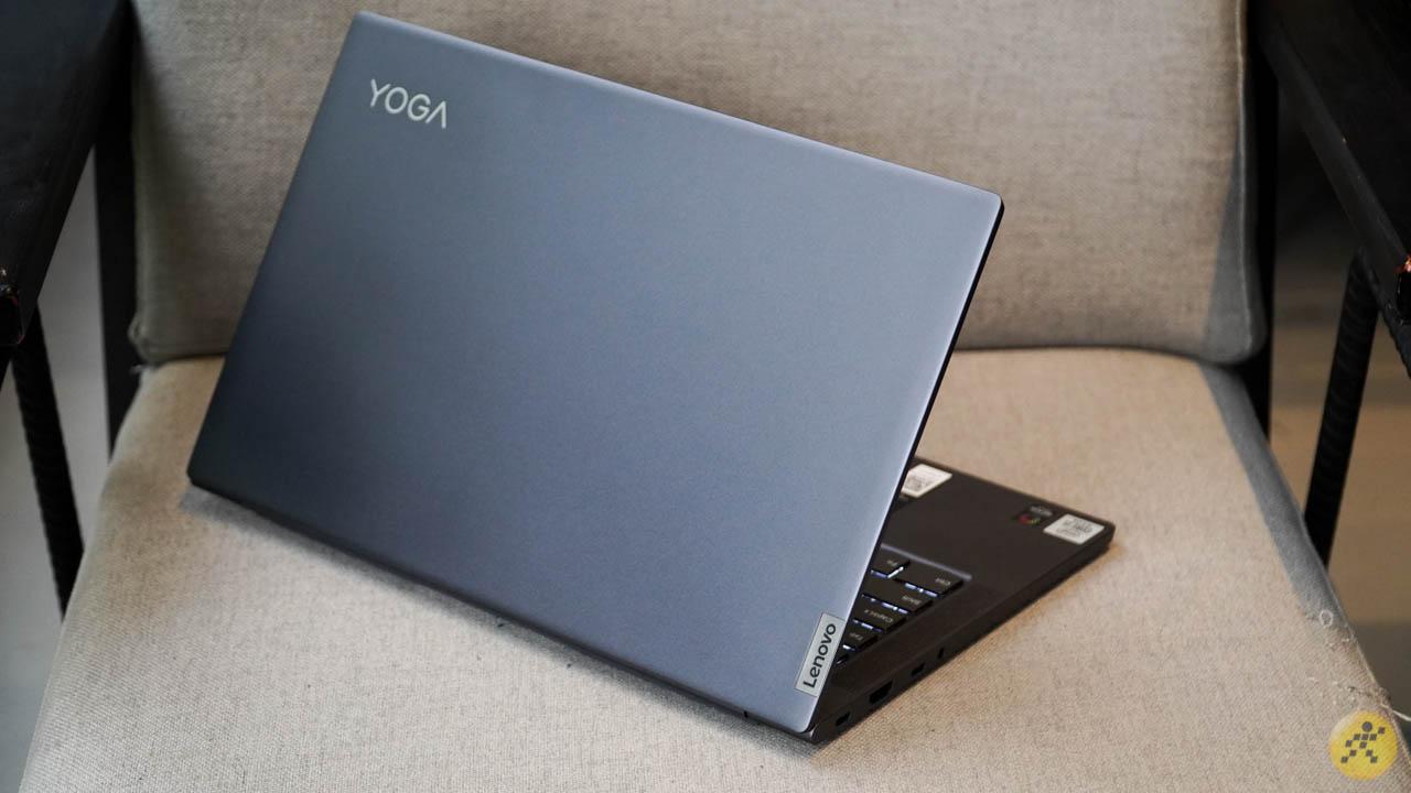 Thiết kế tổng thể của Lenovo Yoga Slim 7