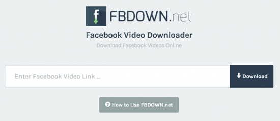 The easiest way to download video from Facebook