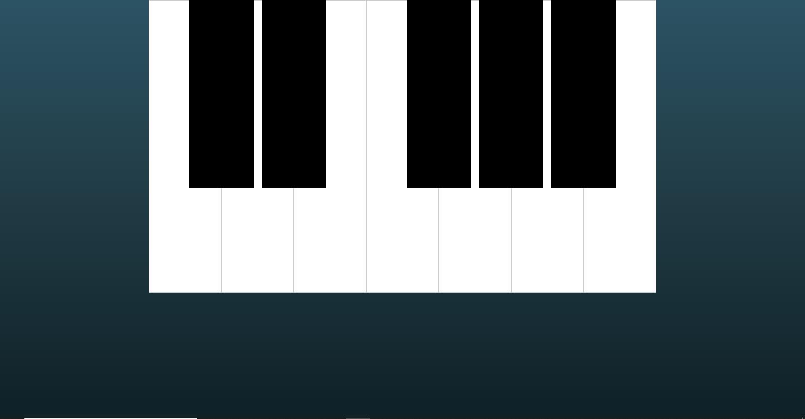 Javascript Piano App