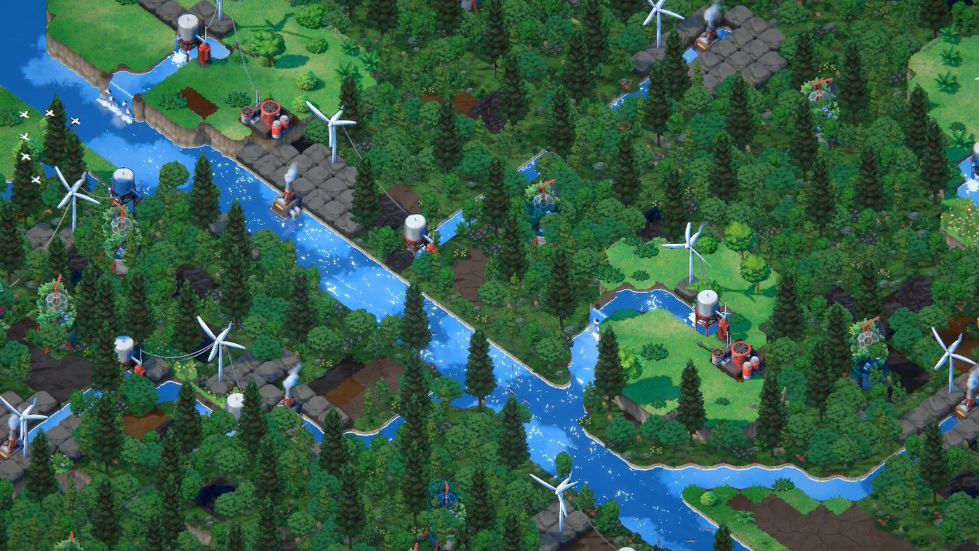 Terra Nil, a beautiful 'reverse city-builder,' gets a demo on June 16 -  Polygon