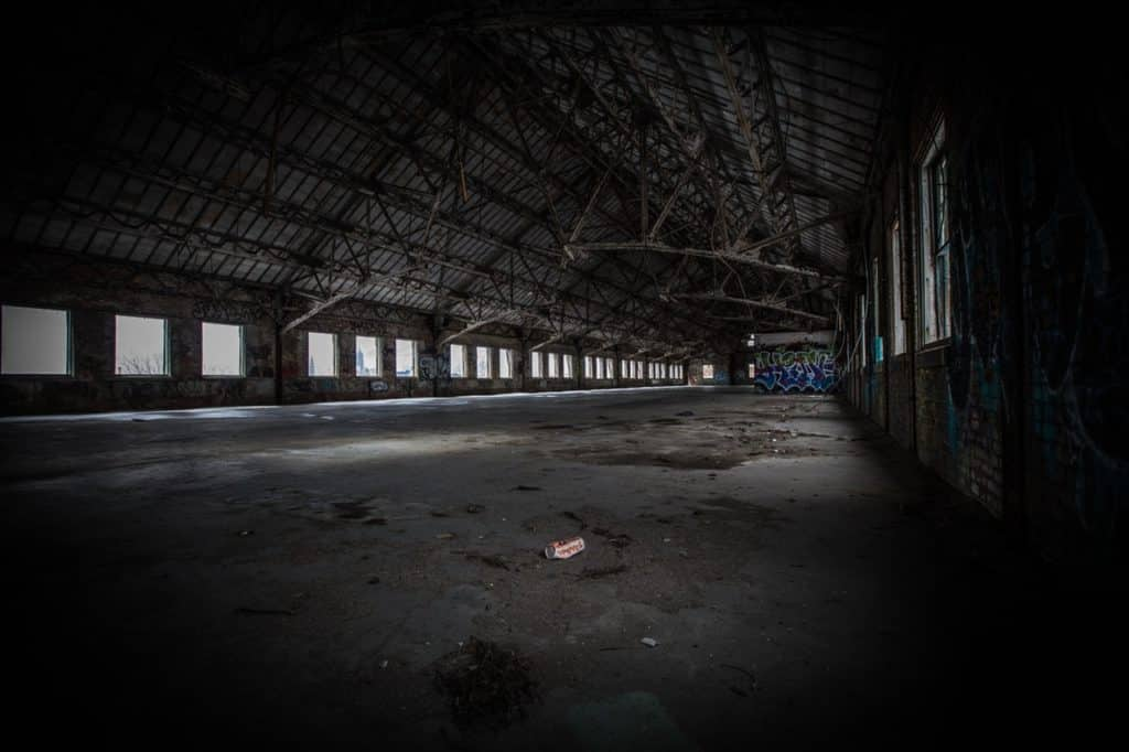 vacant industrial property