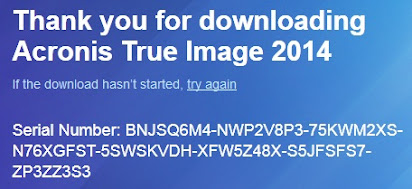 acronis true image 2014 serial key free download