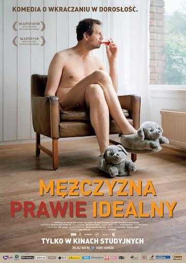 Polski plakat filmu 'Mężczyzna Prawie Idealny'